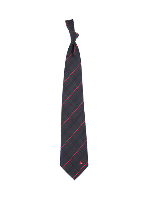 Eagles Wings NCAA Louisville Cardinals Oxford Woven Tie