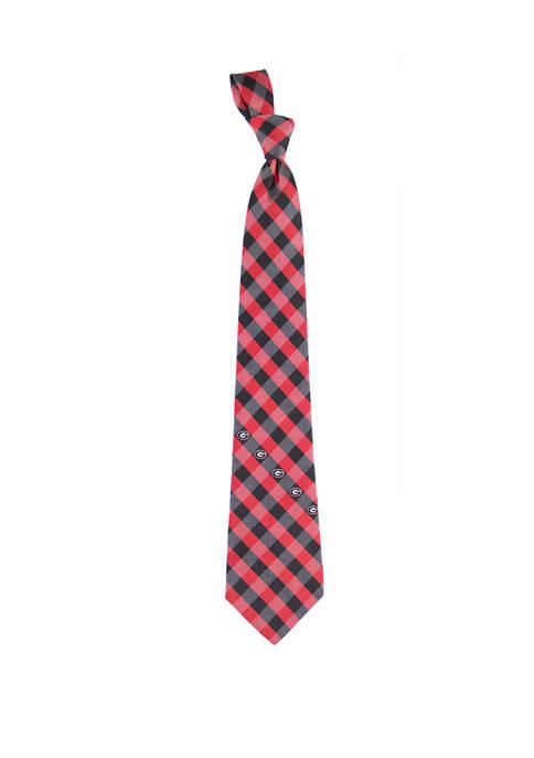 NCAA Georgia Bulldogs Check Tie