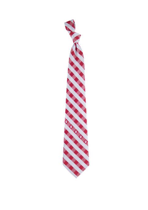 NCAA Indiana Hoosiers Check Tie