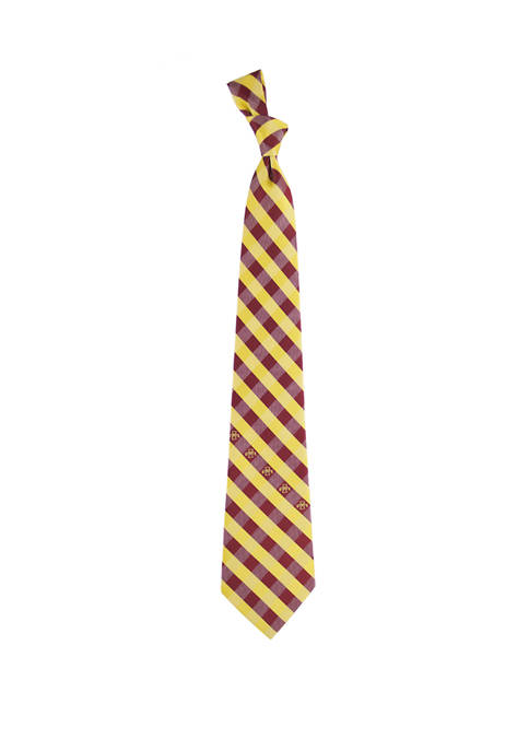 Eagles Wings NCAA Iowa State Cyclones Check Tie