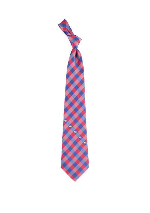 NCAA Kansas Jayhawks Check Tie