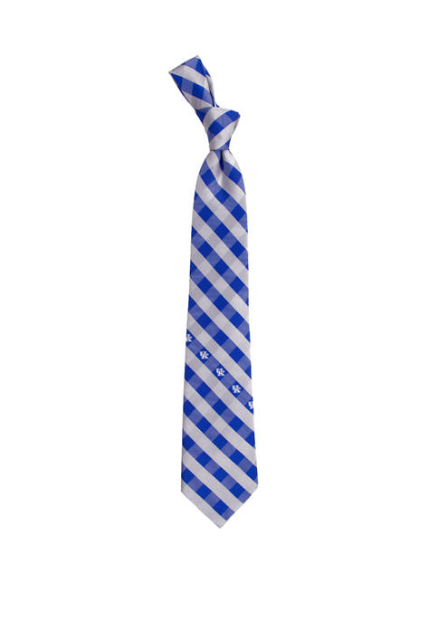 NCAA Kentucky Wildcats Check Tie