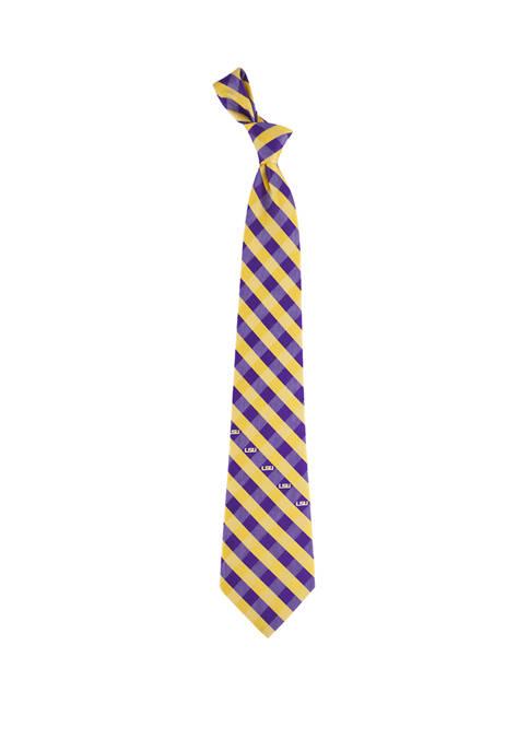 NCAA LSU Tigers Check Tie