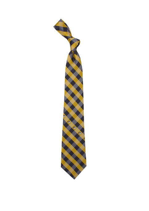 NCAA Missouri Tigers Check Tie