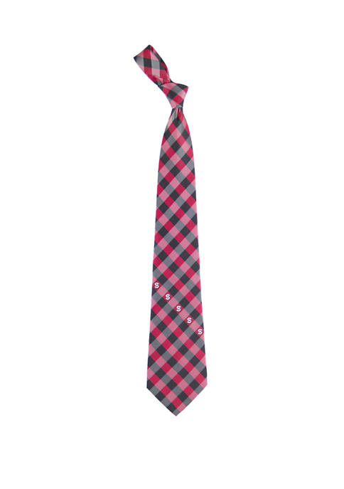 NCAA NC State Wolfpack Check Tie