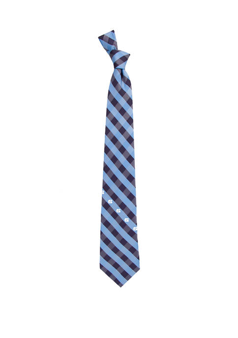 NCAA North Carolina Tar Heels Check Tie