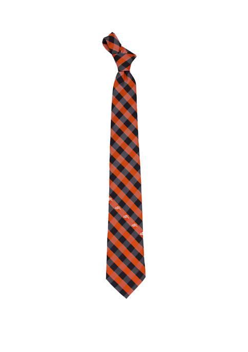 NCAA Oklahoma State Cowboys Check Tie