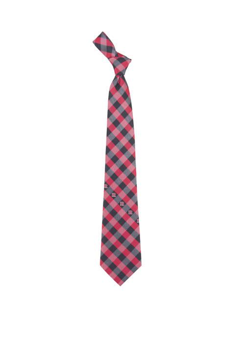 NCAA Rutgers Scarlet Knights Check Tie