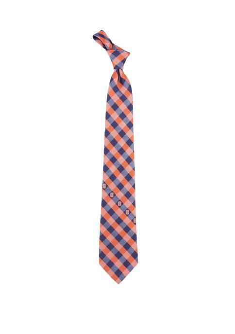 NCAA Syracuse Orangemen Check Tie