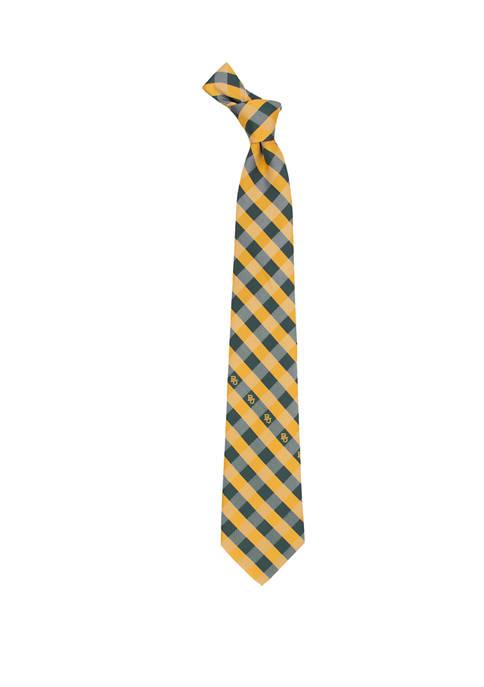 NCAA Baylor Bears Check Tie