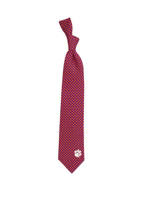 Eagles Wings NCAA Clemson Tigers Diamante Tie