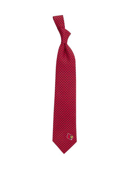 NCAA Louisville Cardinals Diamante Tie