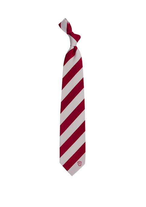 NCAA Indiana Hoosiers Regiment Tie