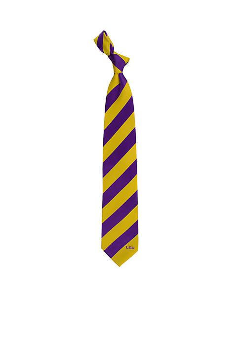 LSU Tigers Regiment Tie
