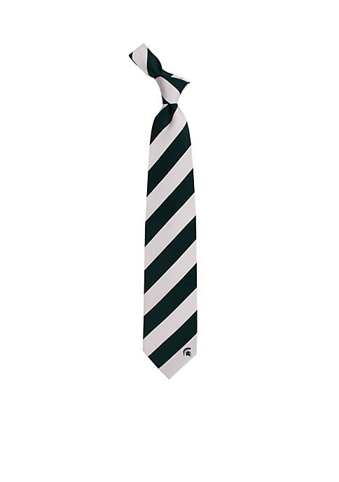 Eagles Wings Michigan State Spartans Regiment Tie