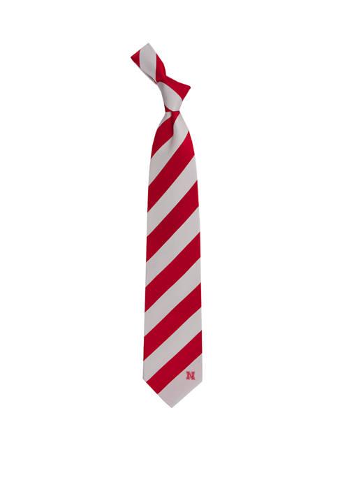 NCAA Nebraska Cornhuskers Regiment Tie