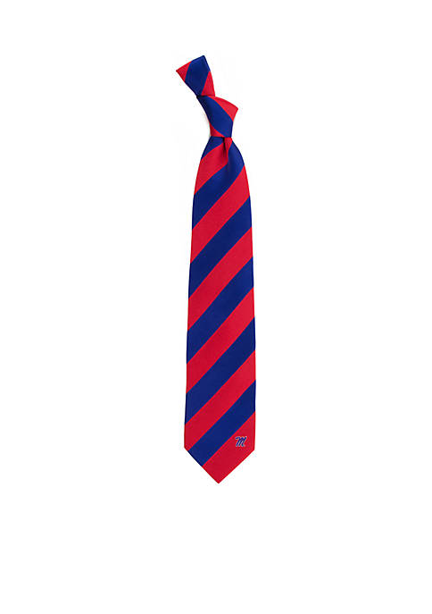 Eagles Wings Ole Miss Rebels Regiment Tie