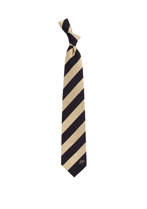 NCAA Purdue Boilermakers Regiment Tie