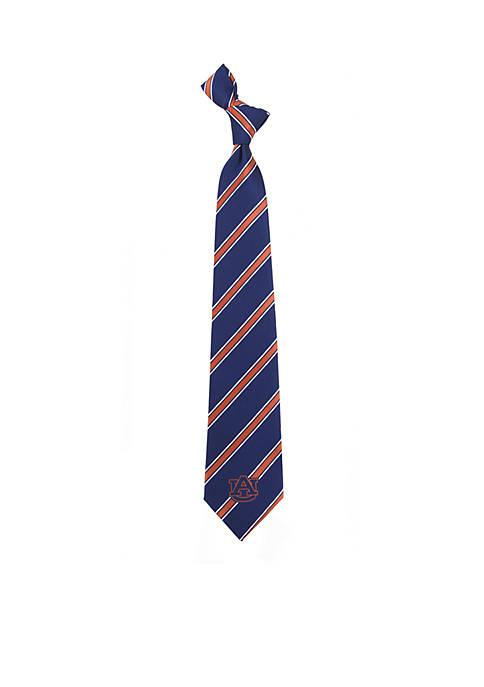 Eagles Wings Auburn Tigers Stripe Tie