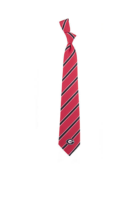 Eagles Wings Georgia Bulldogs Stripe Tie