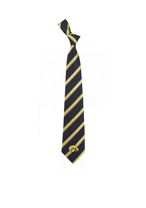 Iowa Hawkeyes Woven Poly 1 Tie