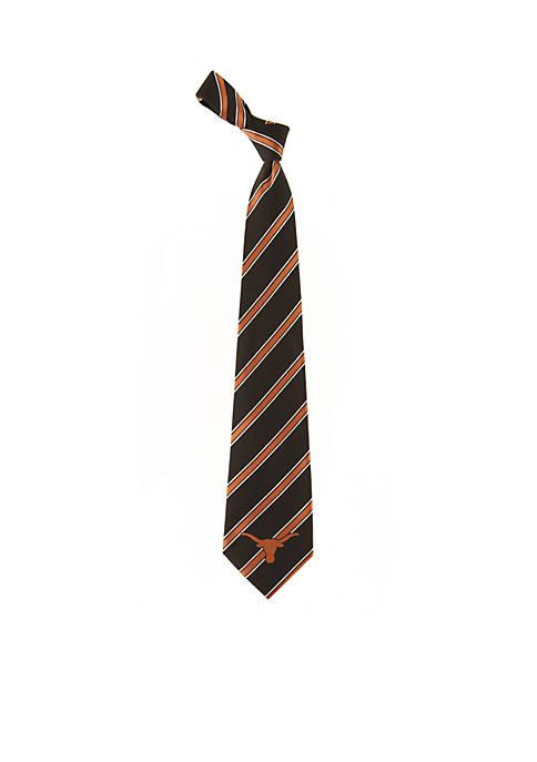 Eagles Wings Texas Longhorns Stripe Tie