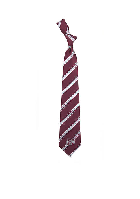Mississippi State Bulldogs Woven Poly 1 Tie