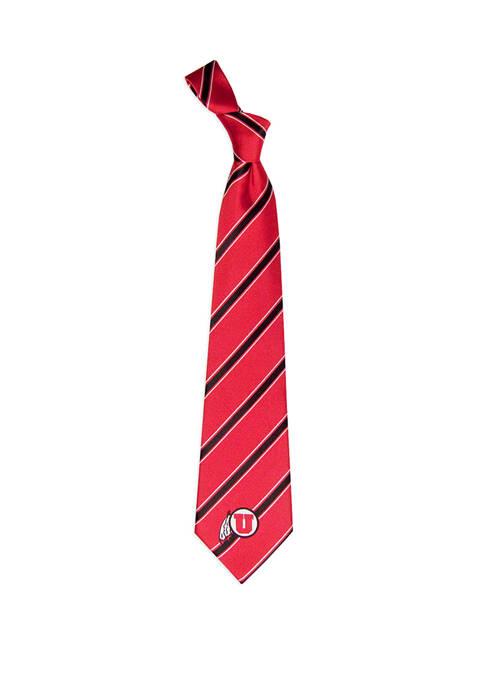 NCAA Utah Utes Woven Poly 1 Tie