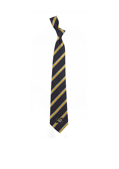 Eagles Wings Missouri Tigers Woven Poly 1 Tie