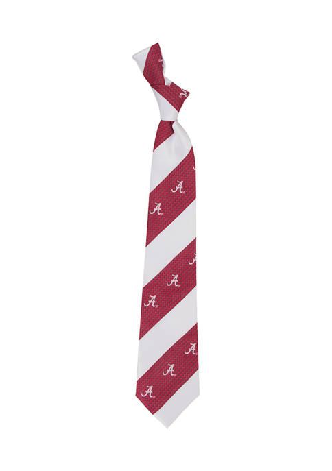 NCAA Alabama Crimson Tide Geo Stripe Tie