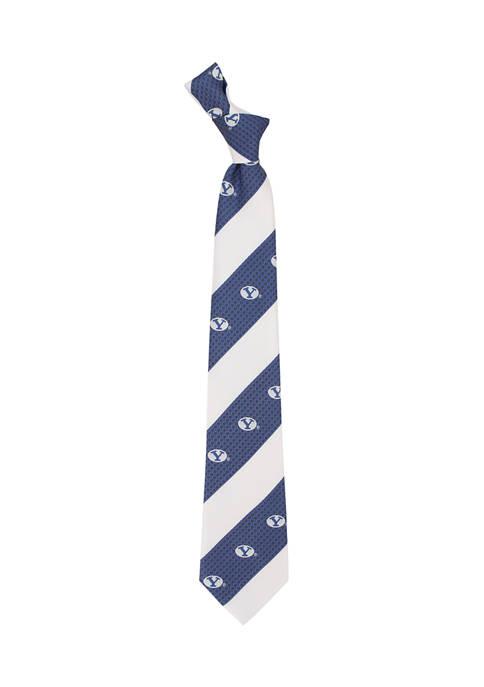 NCAA BYU Cougars Geo Stripe Tie