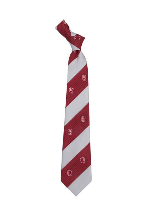 NCAA Indiana Hoosiers Geo Stripe Tie
