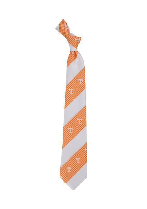 NCAA Tennessee Volunteers Geo Stripe Tie