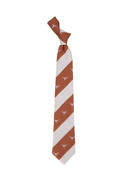 Eagles Wings NCAA Texas Longhorns Geo Stripe Tie