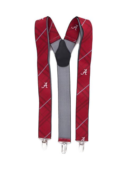 Eagles Wings NCAA Alabama Crimson Tide Oxford Suspenders