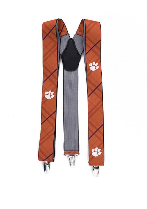 NCAA Clemson Tigers Oxford Suspenders