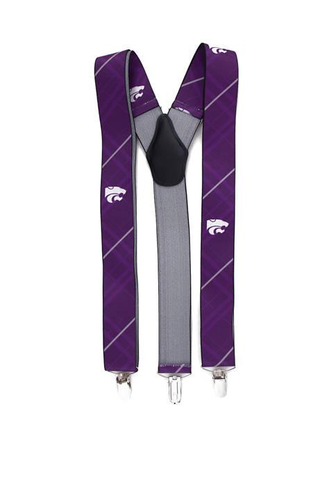 NCAA Kansas State Wildcats Oxford Suspenders
