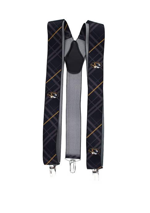 NCAA Missouri Tigers Oxford Suspenders