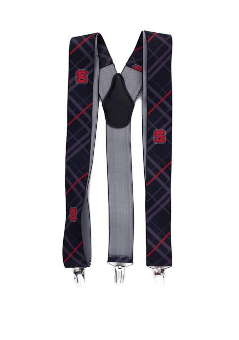 NCAA NC State Wolfpack Oxford Suspenders