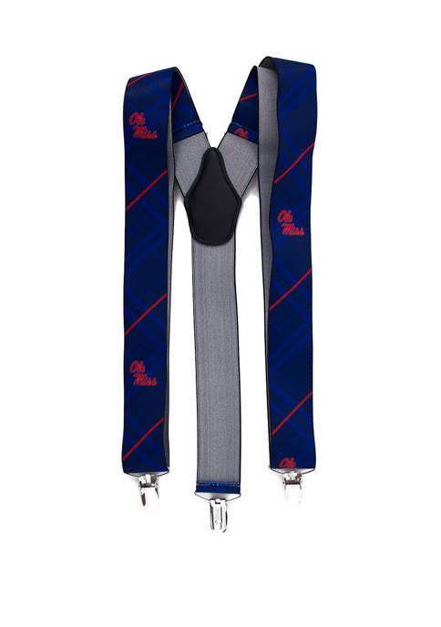 Eagles Wings NCAA Ole Miss Rebels Oxford Suspenders