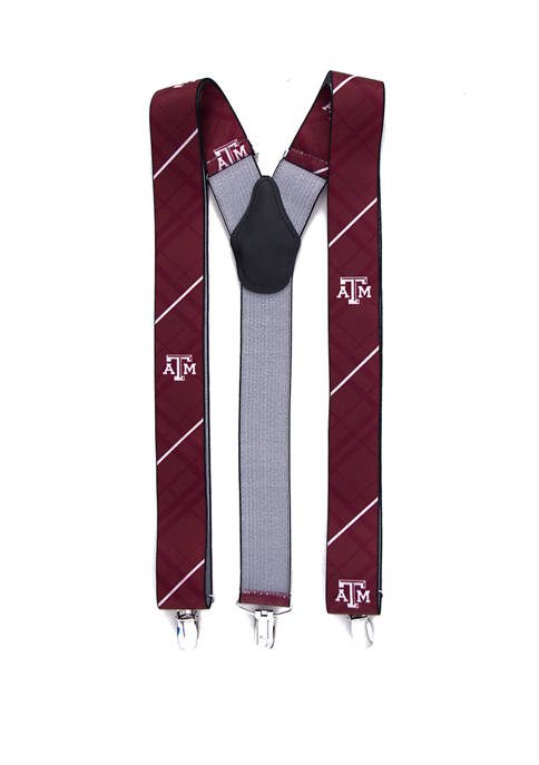 Eagles Wings NCAA Texas A&M Aggies Oxford Suspenders