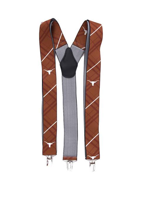 NCAA Texas Longhorns Oxford Suspenders