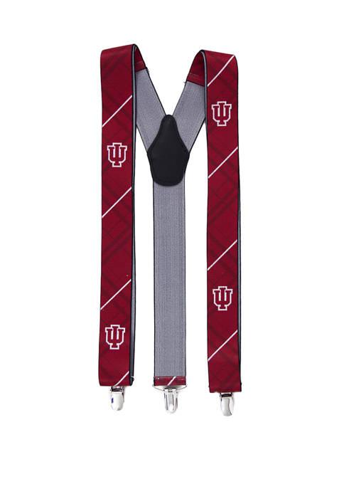 NCAA Indiana Hoosiers Oxford Suspenders