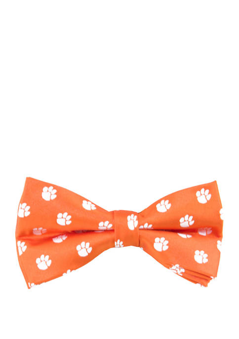Eagles Wings NCAA Clemson Tigers Repeat Bow Tie