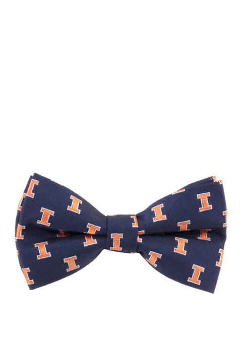 Eagles Wings NCAA Illinois Fighting Illini Repeat Bow