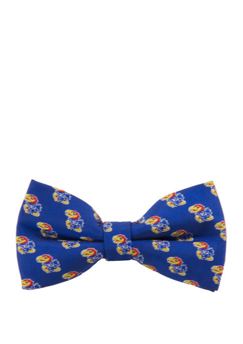 Eagles Wings NCAA Kansas Jayhawks Repeat Bow Tie