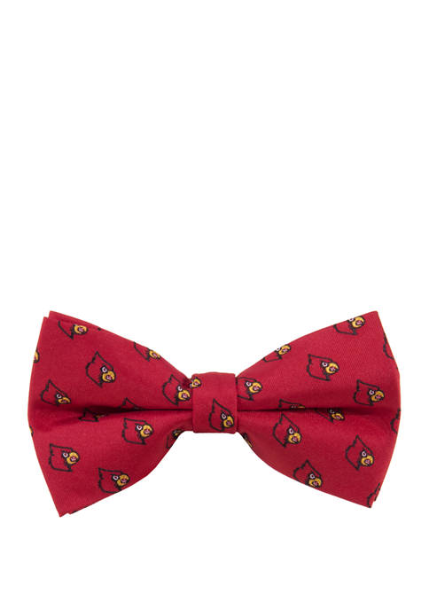Eagles Wings NCAA Louisville Cardinals Repeat Bow Tie
