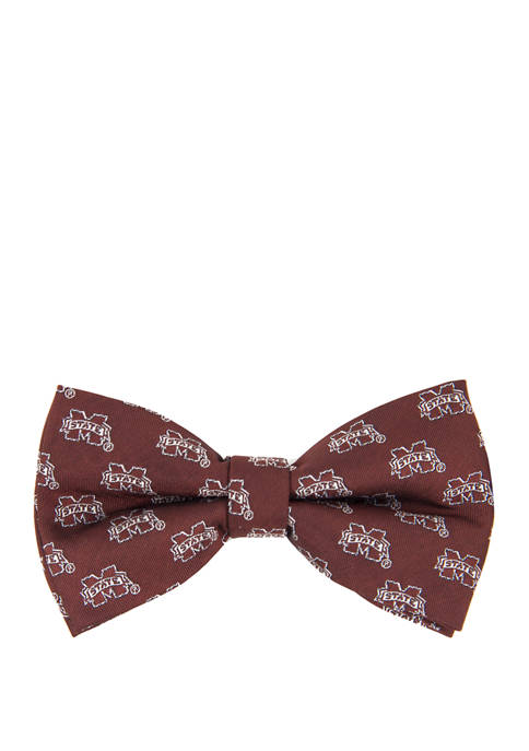 NCAA Mississippi State Bulldogs Repeat Bow Tie