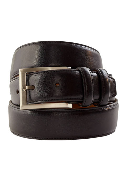 32 Millimeter Milled Italian Leather Belt