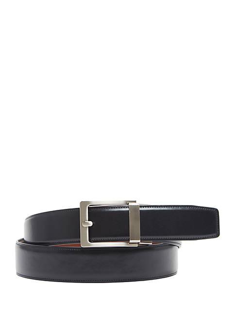 Semi Auto Faux Leather Belt
